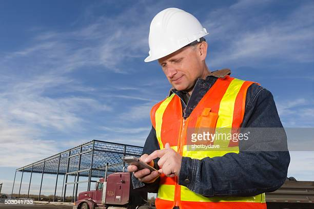 Construction Site and Texting