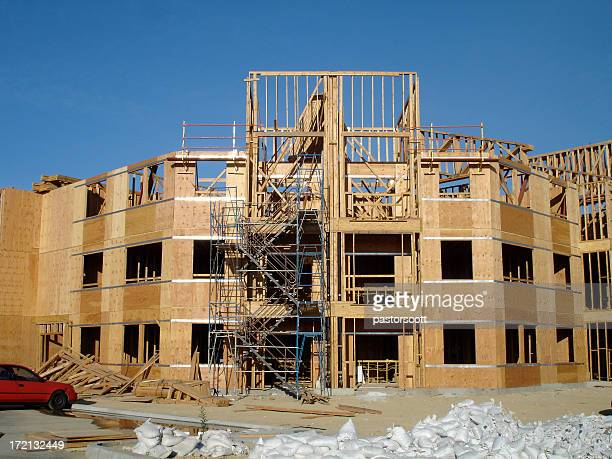 Construction Site Apartment Building San Fernando Valley California