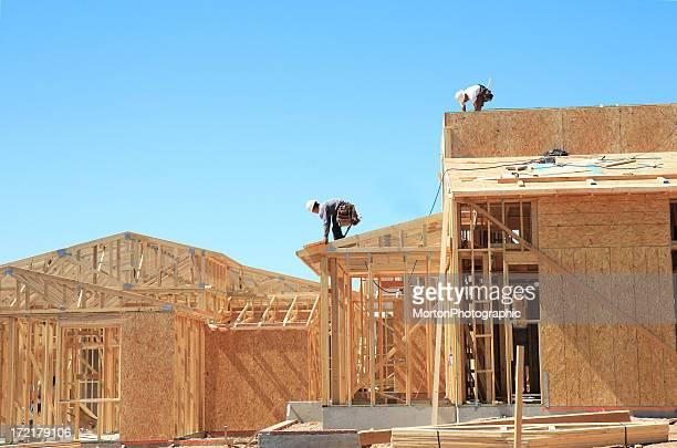 Construction site for a neighborhood