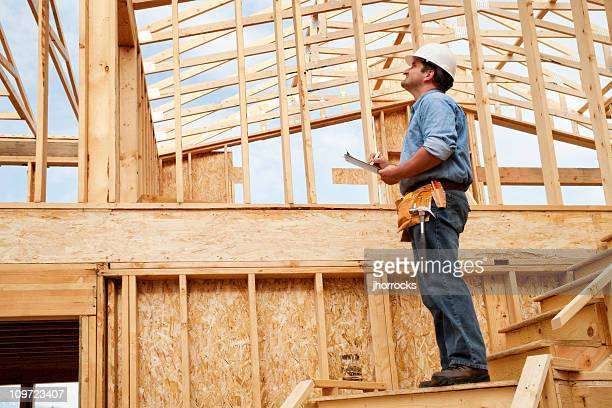 construction site inspection - inspector stock pictures, royalty-free photos & images