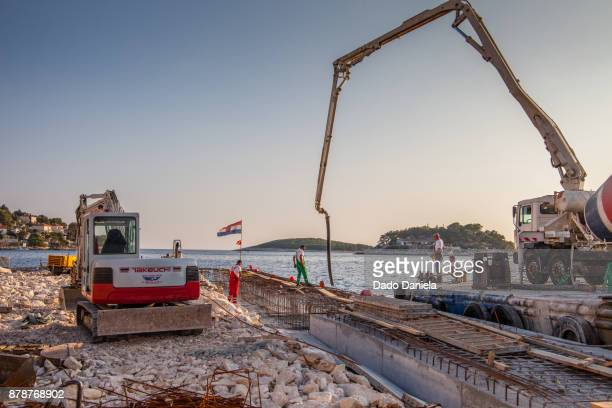 Construction Site on Hvar Island