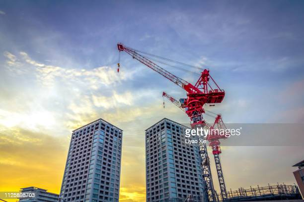 construction site - liyao xie stock pictures, royalty-free photos & images