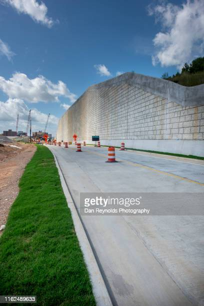 construction site - retaining wall stock pictures, royalty-free photos & images
