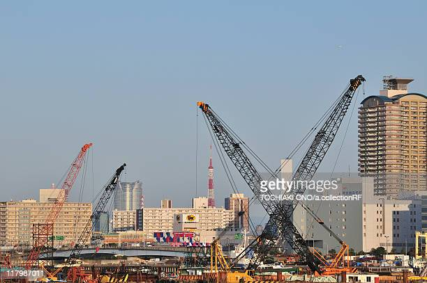 construction site - shinkiba studio coast stock pictures, royalty-free photos & images