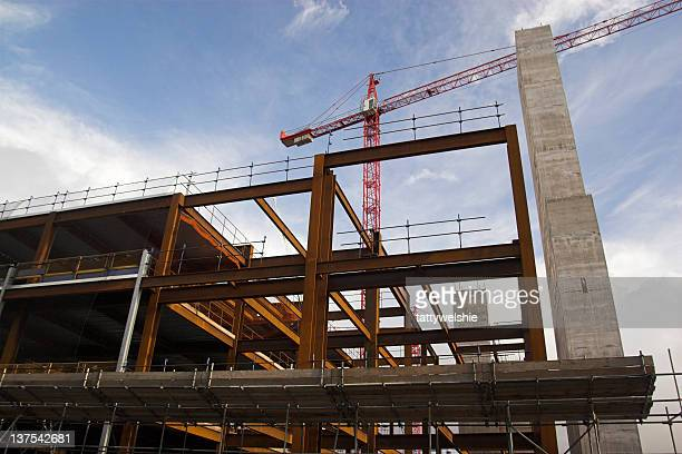 construction site - south wales stock pictures, royalty-free photos & images