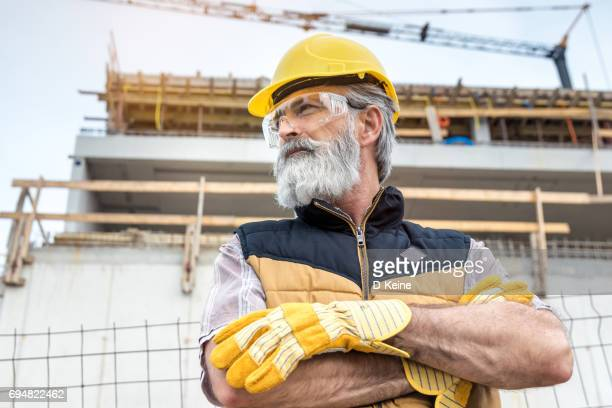 construction site - construction worker stock pictures, royalty-free photos & images