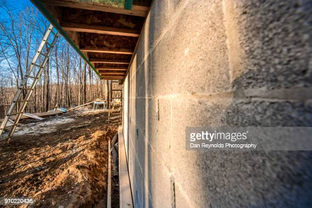 construction site - foundation make up stock pictures, royalty-free photos & images