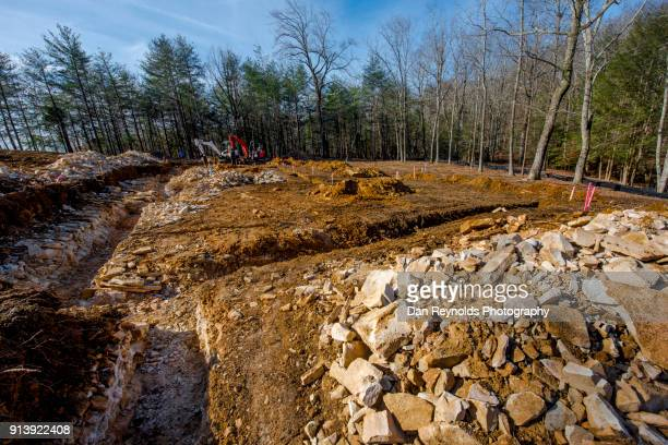 construction site - life in the trenches stock pictures, royalty-free photos & images