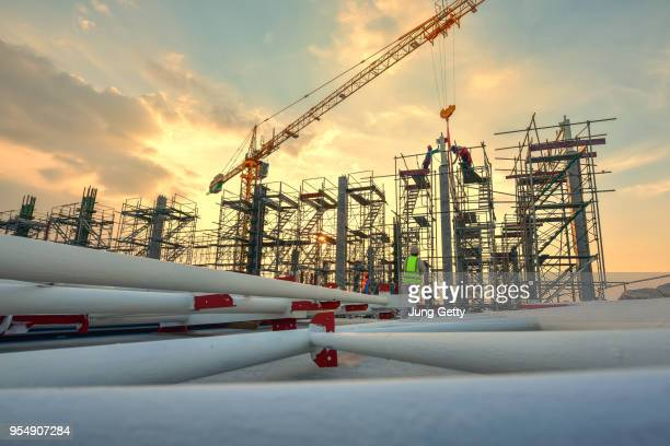 construction site - fallen soldier stock pictures, royalty-free photos & images