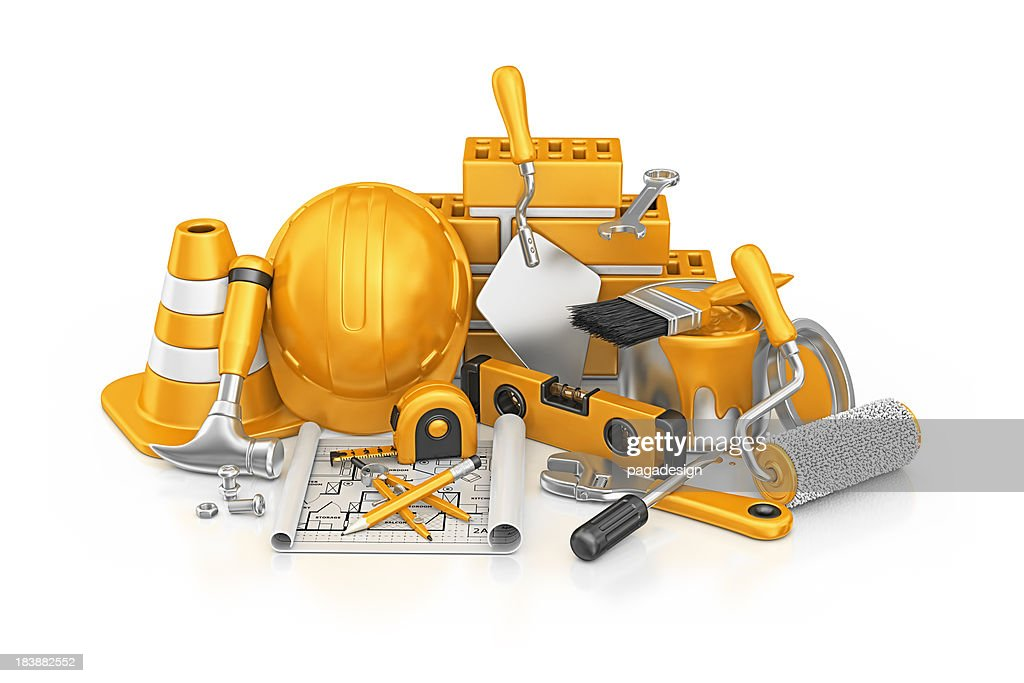 construction stuff : Stock Photo