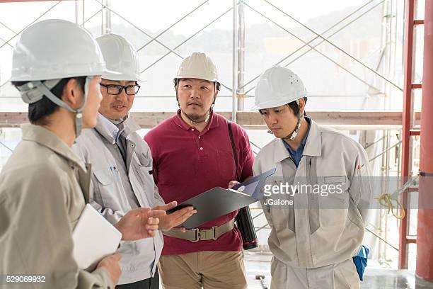 建造チーム調べる計画建物のサイト