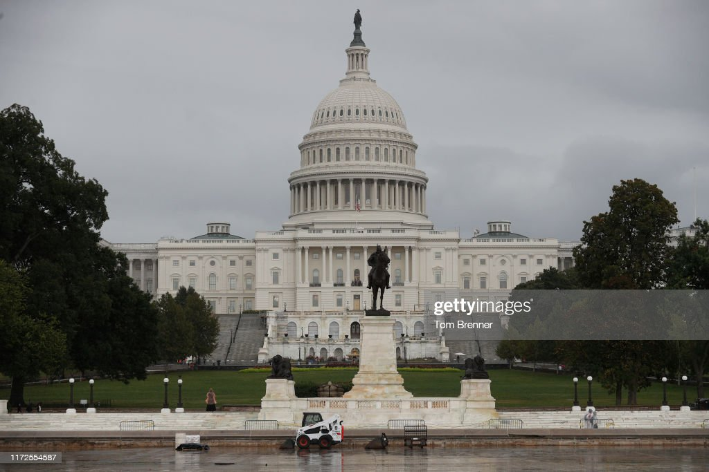 Impeachment Proceedings Continue On Capitol Hill : News Photo
