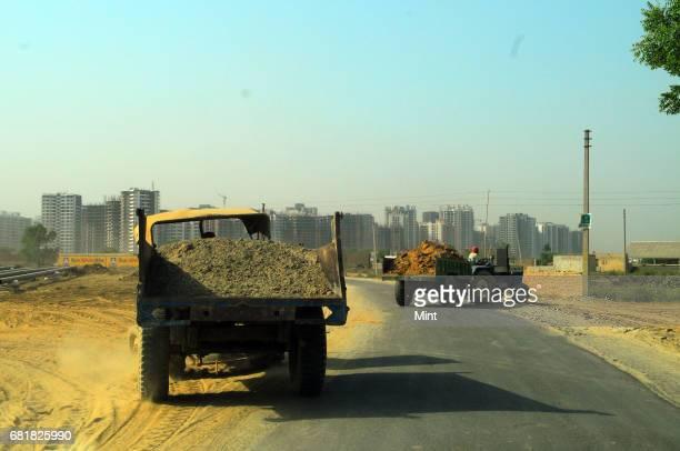 Construction work in Noida Extension