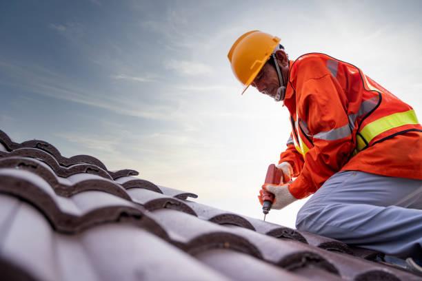new colour bond roof