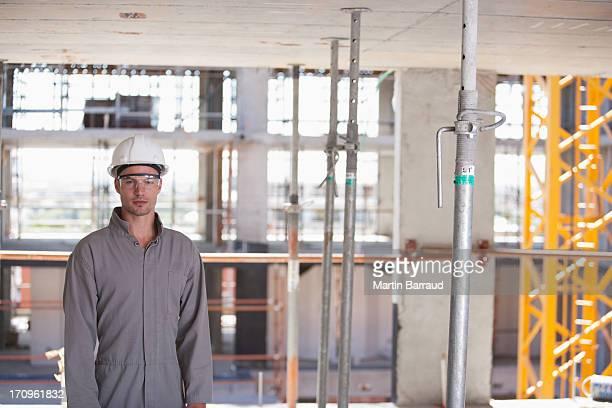 Bau Arbeiter auf der Baustelle