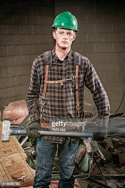 construction worker - pants pulled down stock pictures, royalty-free photos & images