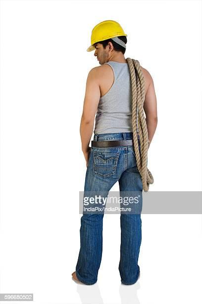 A construction worker