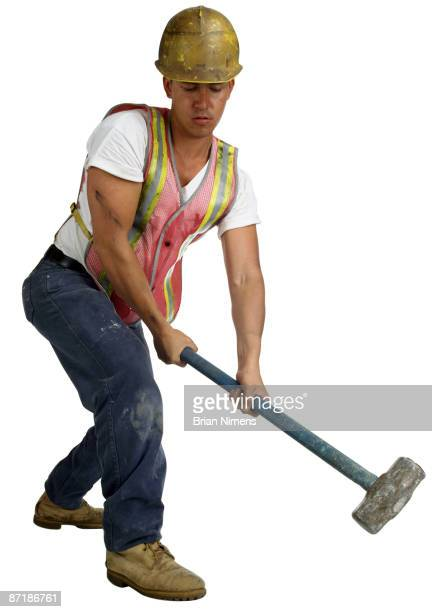 Construction Worker (Clipping Paths Included)