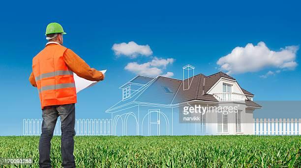 Trabalhador da Construção Civil de Planeamento de Nova casa