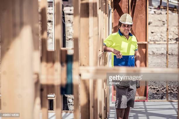 Portrait de travailleur de Construction