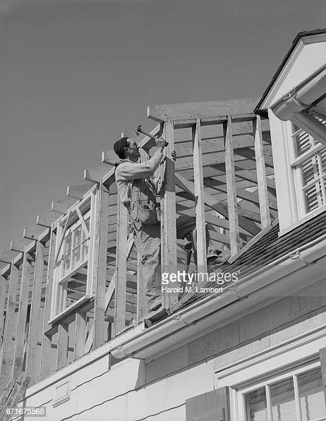 construction worker working at construction site - number of people stock pictures, royalty-free photos & images