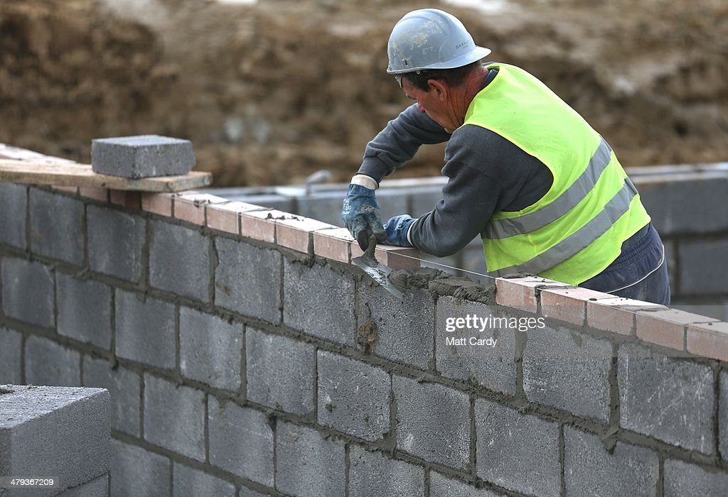 House Building Boosted By Help To Buy Scheme And Overseas Investment : News Photo
