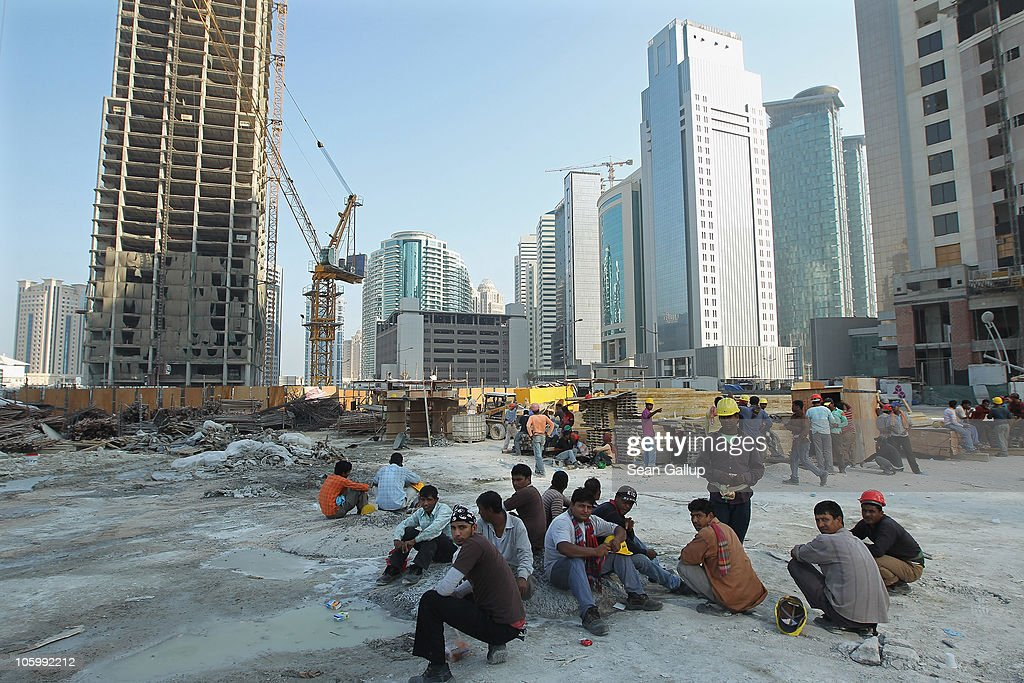 Qatar Economy On Track For Double Digit Growth : News Photo