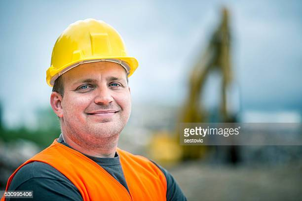 Construction Worker's Portrait