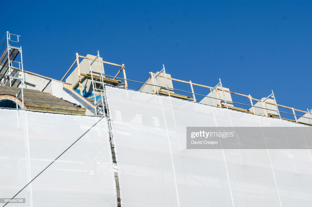Construction works (close up) : Stock-Foto