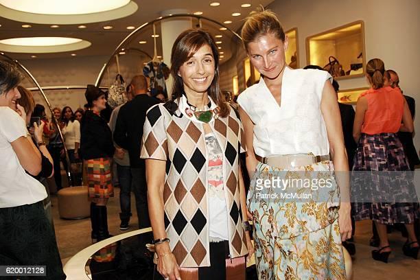 Consuelo Castiglioni and Elizabeth Von Guttman attend MARNI Boutique Miami Private Opening at Marni Boutique on December 2, 2008 in Miami, FL.