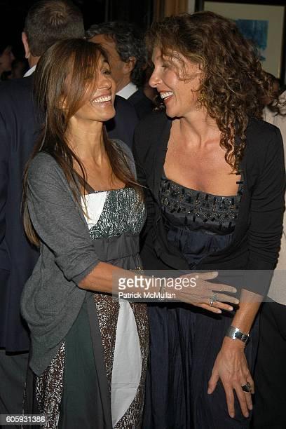 Consuelo Castiglioni and Jacqueline Schnabel attend MARNI Dinner for Consuelo Castiglioni at The Home of Jacqueline Schnabel on April 29 2006 in New...