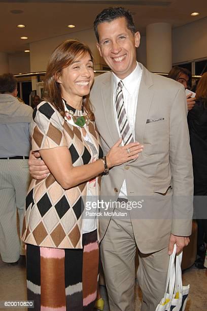 Consuelo Castiglioni and Stefano Tonchi attend MARNI Boutique Miami Private Opening at Marni Boutique on December 2, 2008 in Miami, FL.