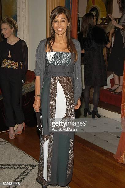 Consuelo Castiglioni attends MARNI Dinner for Consuelo Castiglioni at The Home of Jacqueline Schnabel on April 29, 2006 in New York City.