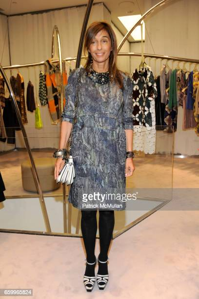 Consuelo Castiglioni attends MARNI Uptown Opening Party at Marni Boutique on May 5, 2009 in New York City.