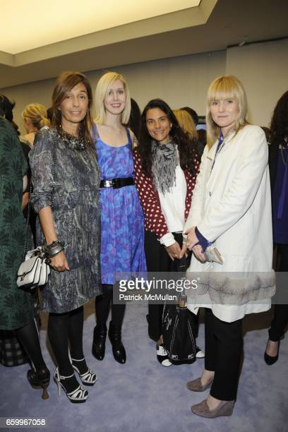 Consuelo Castiglioni, Jane Keltner, Gloria Baume and Amy Astley attend MARNI Uptown Opening Party at Marni Boutique on May 5, 2009 in New York City.