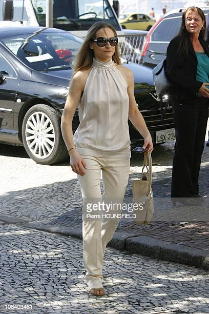 Consuelo Remmert, the stepsister of Carla Bruni, in Rio de Janeiro, Brazil on December 23, 2008.