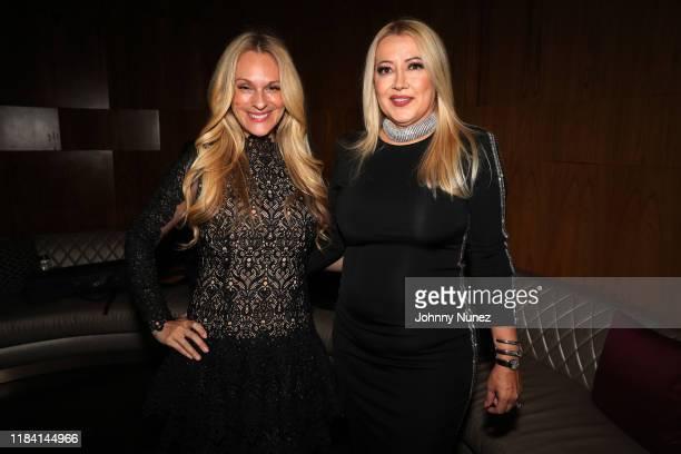 Consuelo Vanderbilt Costin and Maria Elena Paganini attend Paganini Honors Paganini at Ascent Lounge on October 28 2019 in New York City