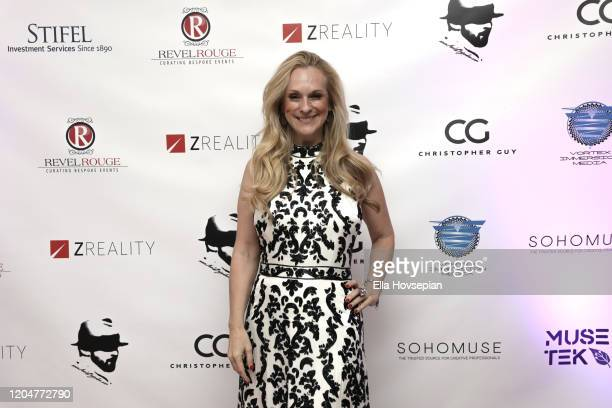 Consuelo Vanderbilt Costin at the LA Launch Event Of SohoMuse at Christopher Guy West Hollywood Showroom on February 07 2020 in West Hollywood...