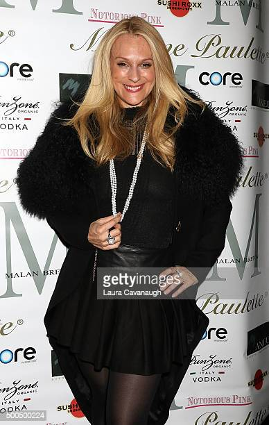 Consuelo Vanderbilt Costin attends Malan Breton Couture Collection Unveiling Hosted By Dorinda Medley at Madame Paulette on December 8 2015 in New...