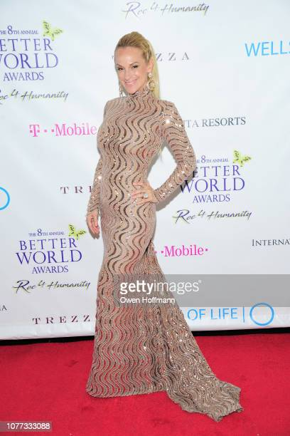 Consuelo Vanderbilt Costin attends Wells Of Life Charity Benefits At The 8th Annual Better World Awards Event Roc4Humanity at The Loeb Boathouse on...