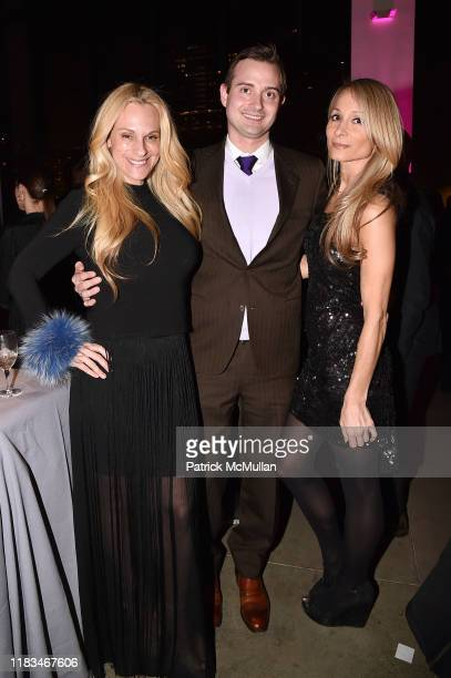Consuelo Vanderbilt Costin Paul Cossu and Indira Cesarine attend 25th Annual ARTWALK NY Benefiting Coalition For The Homeless Presented By Max Mara...