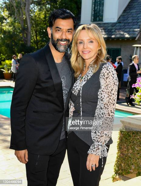 Consul General Of Canada Mr Zaib Shaikh and Kirsten Stewart attend The Consulate General Of Canada's Oscar Luncheon at Official Residence Of Canada...