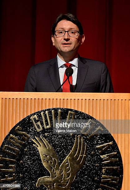 Consul General of France in Los Angeles Axel Cruau attends the 19th Annual City Of Lights City Of Angels Film Festival at Directors Guild Of America...