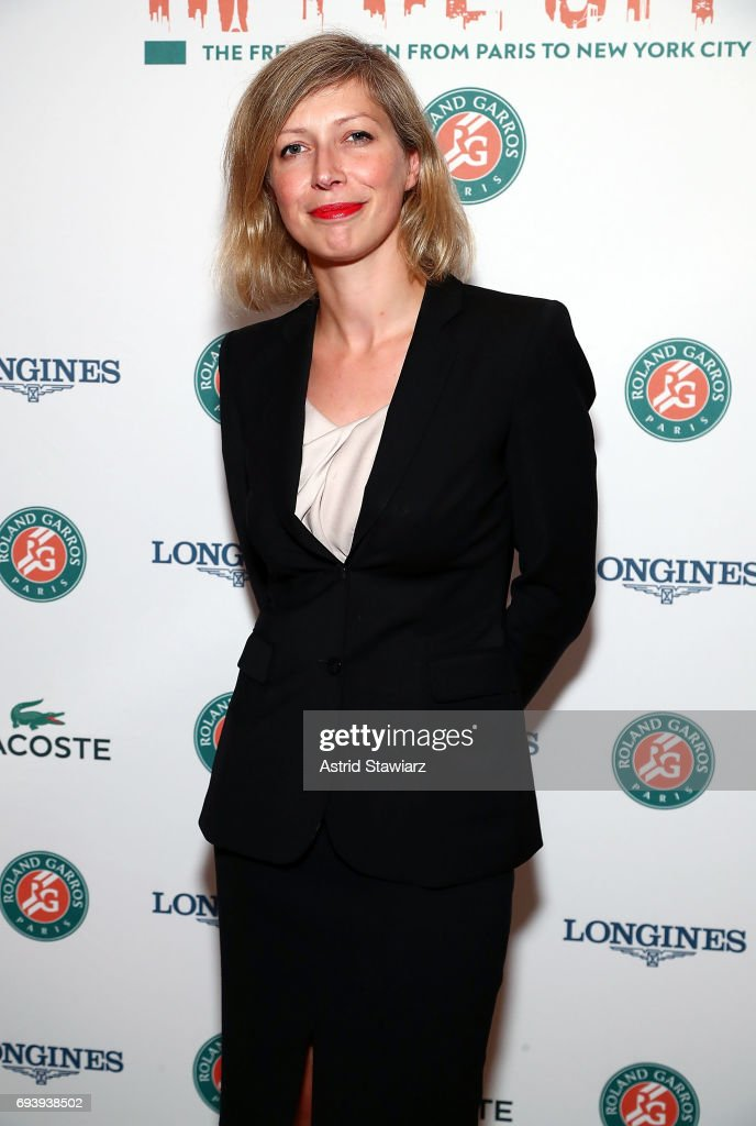 Consul General of France in New York, Anne-Claire Legendre attends Roland-Garros in the city reception at French Consulate on June 8, 2017 in New York City.