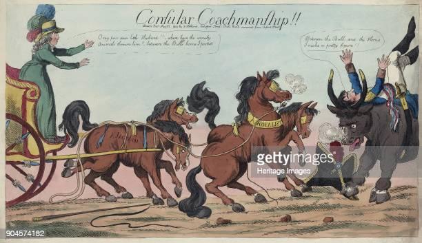 Consular Coachmanship!!, pub. By William Holland, May 22, 1803 ..