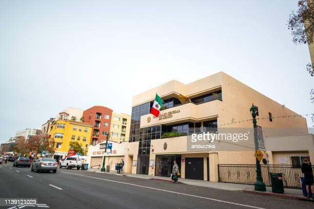 サンディエゴのメキシコ領事館, アメリカ - 領事館 ストックフォトと画像