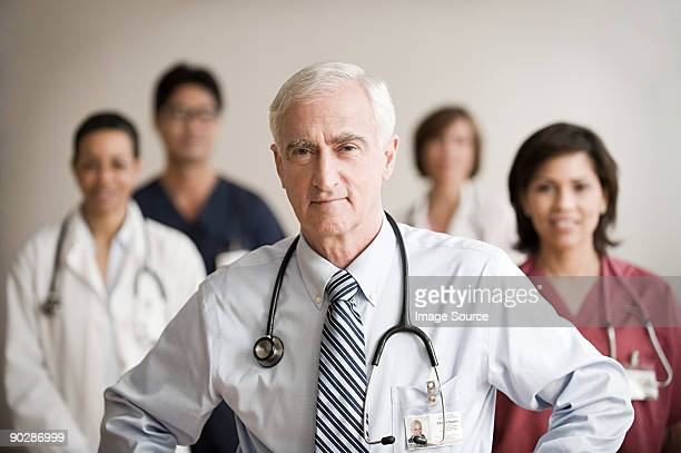 Consultant and colleagues