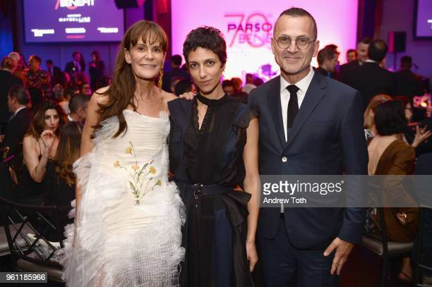 Consultant Julie Gilhart and CFDA President and CEO Steven Kolb attend the 70th Annual Parsons Benefit on May 21 2018 in New York City