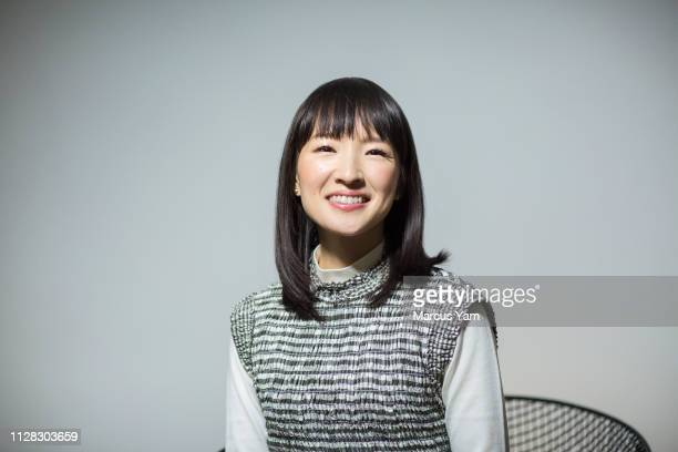 Consultant/author Marie Kondo is photographed for Los Angeles Times on January 7 2019 in West Hollywood California PUBLISHED IMAGE CREDIT MUST READ...