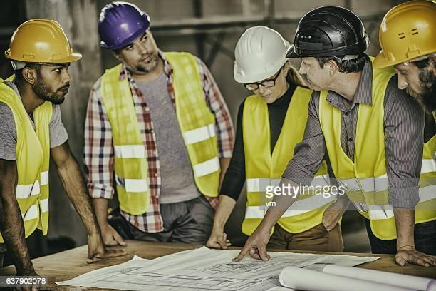 Consultation about blueprints